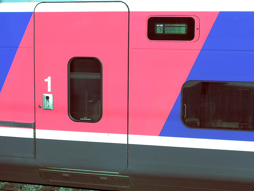 European TGV French National Railway SNCF Intercity Express
