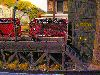 G Gauge16mm Model railway Garden train set photographs