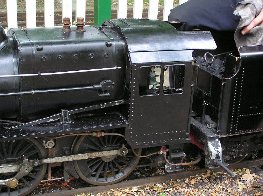 Thames ditton miniature steam railway small vintage locomotive steam
