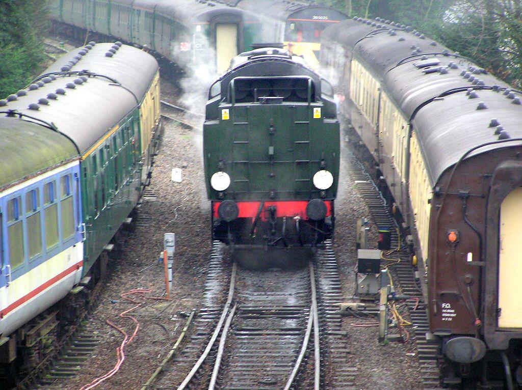 Blue Bell Railway Steam Train Locomotives